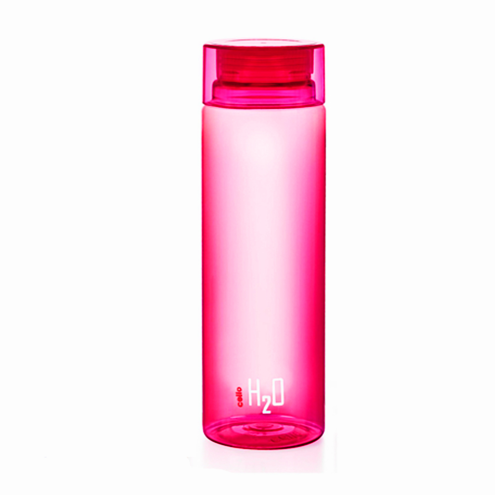 Cello H2O Water Bottle 1000ml 1Pc-Pink