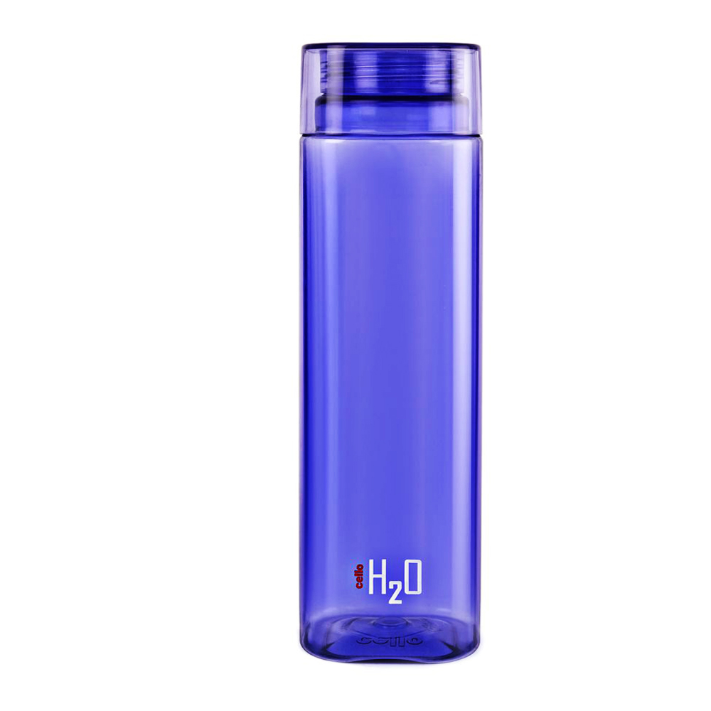 Cello H2O Water Bottle 1000ml 1Pc-Violet