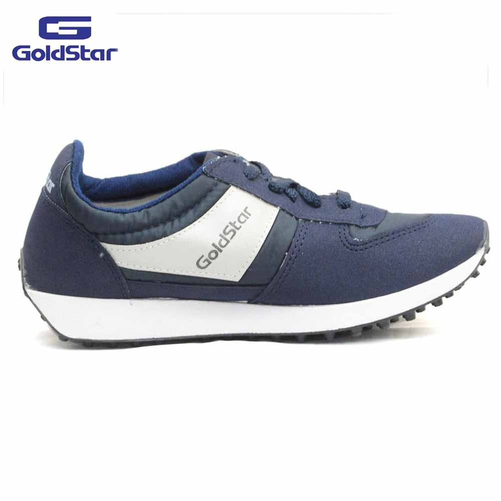 Goldstar Navy Sports Shoes For Men - 602
