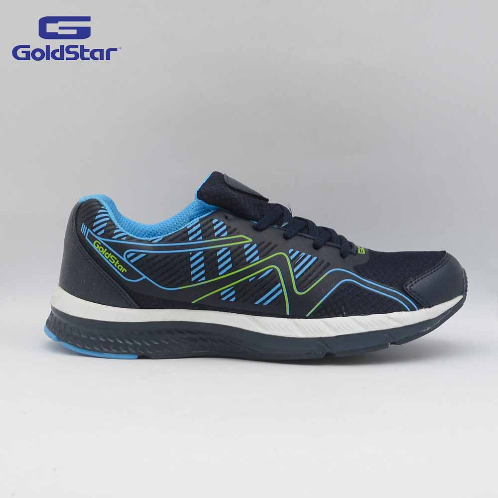 Goldstar Navy/Sky Sports Shoes For Men - G10 G105