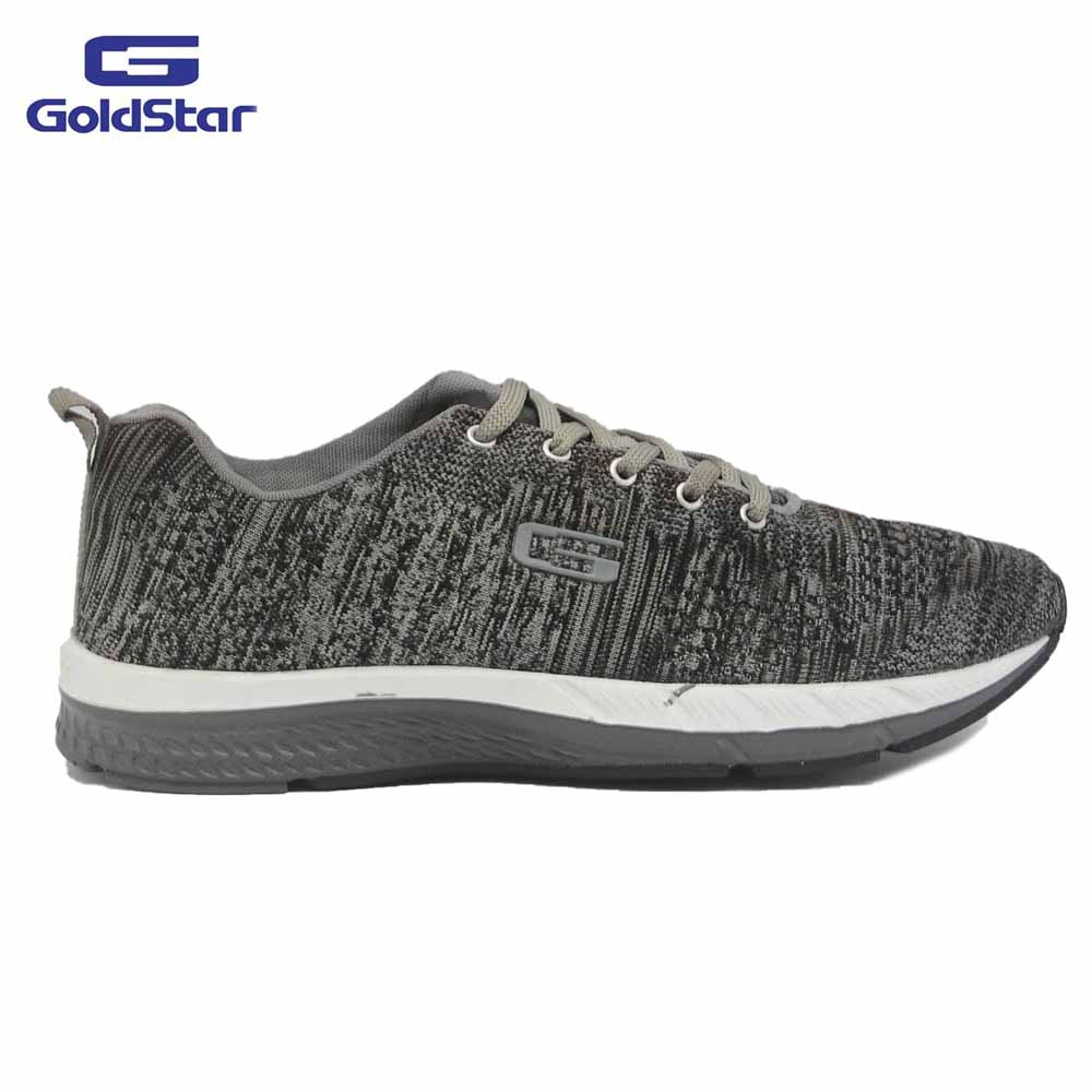 Goldstar Charcoal Sports Shoes For Men - G10 G107