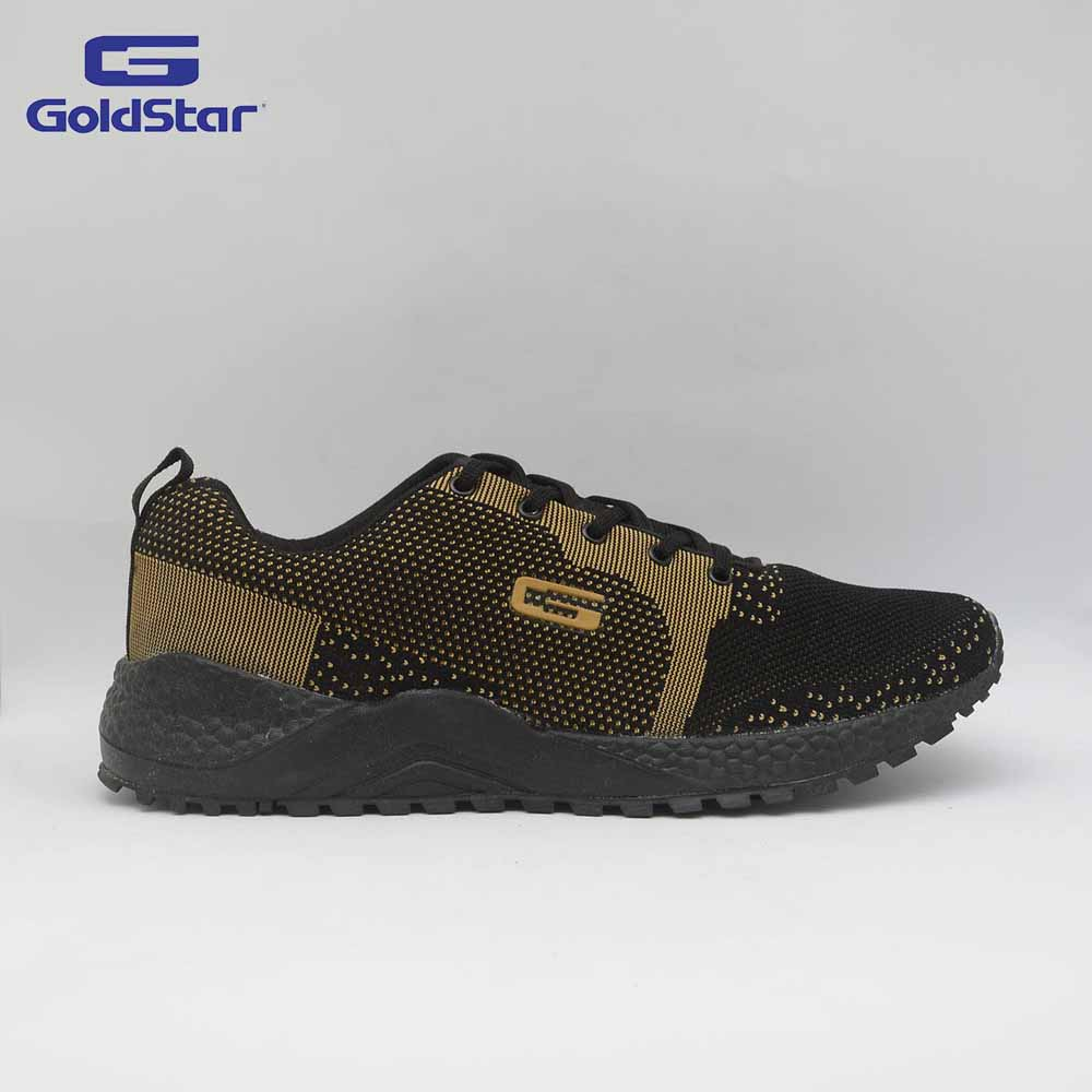 Goldstar Black Mouse Sports Shoes For Men - G10 G405