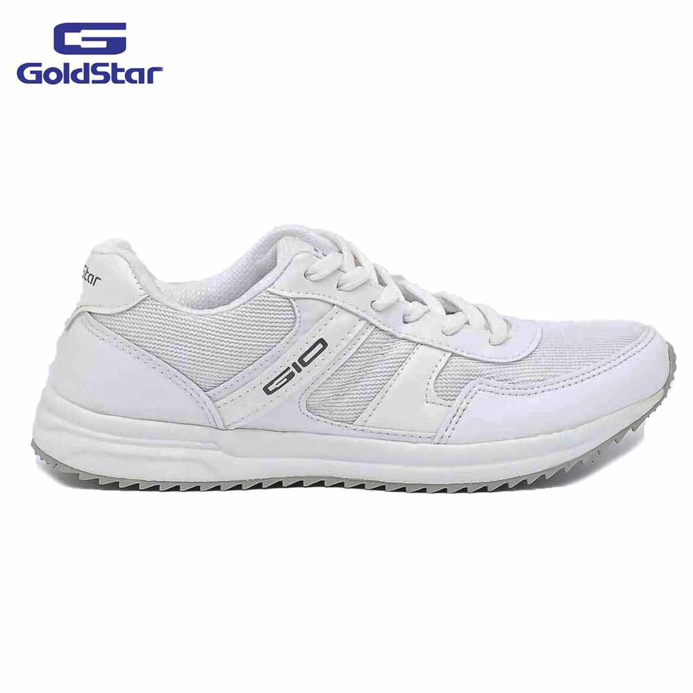 Goldstar White Sports Shoes For Men - G10 G500