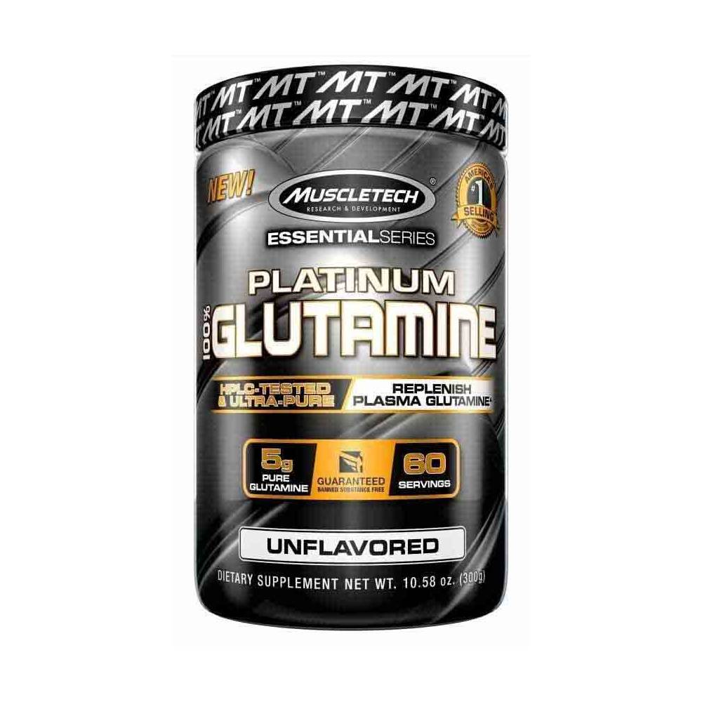 MuscleTech Nutrition Essential 100% UltraPure Micronized Glutamine - 302G