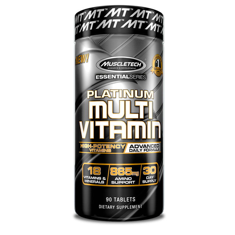 MuscleTech Nutrition Essential Multi Vitamin - 90CAPS