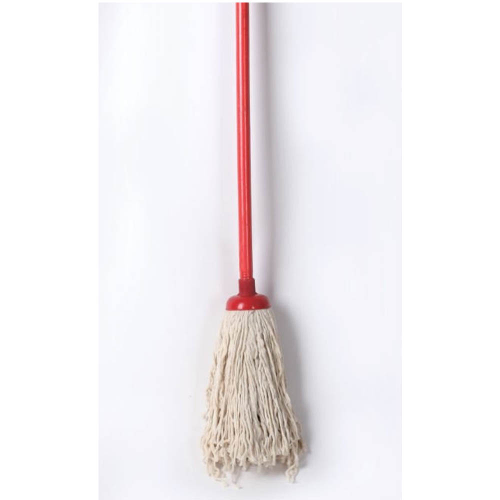 Cotton Floor Mop With Wood Stick 300gm