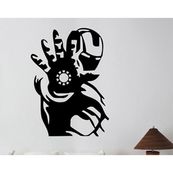 Iron Man Theme Wall Sticker