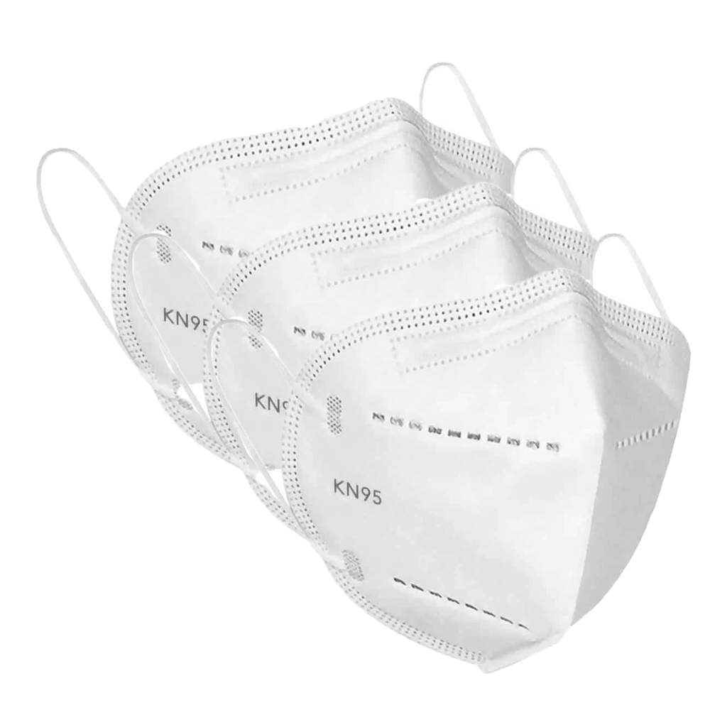Pack of 3 KN95 3 Layer Protection Mask (Without Breather)
