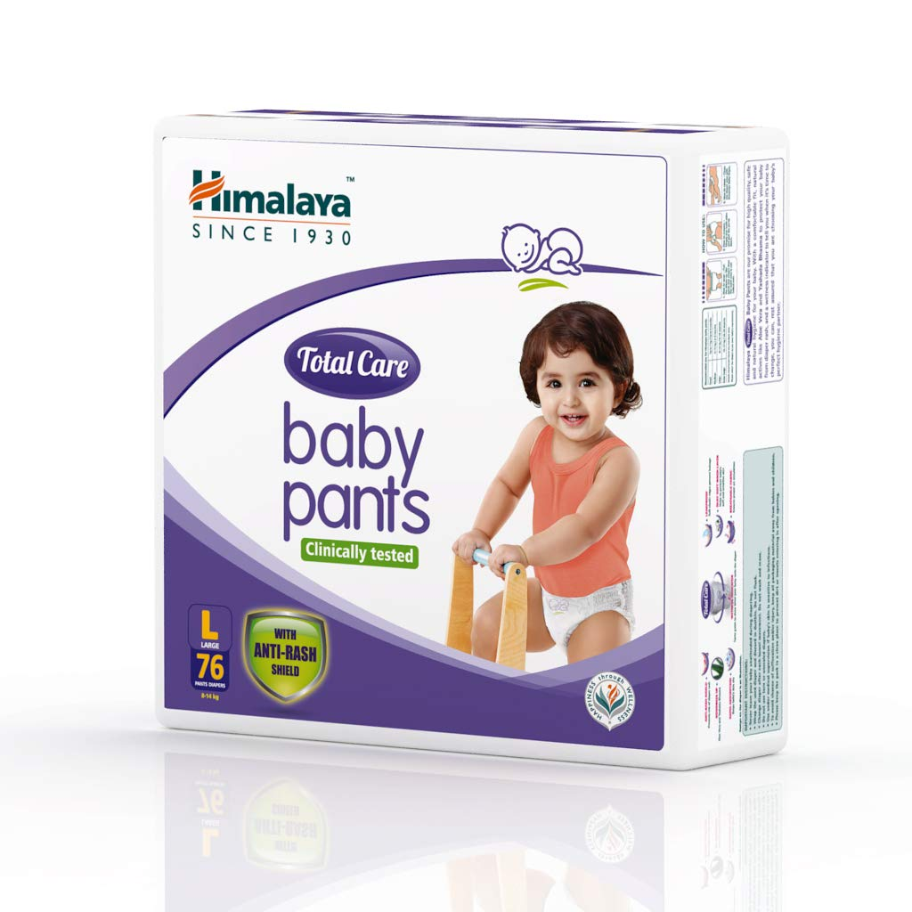 Himalaya Total Care Baby Pants Large 76's