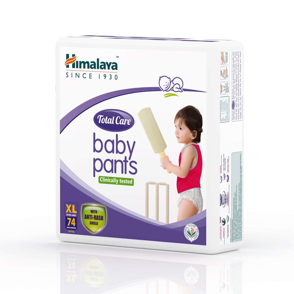 Himalaya Total Care Baby Pants Extra Large 74's