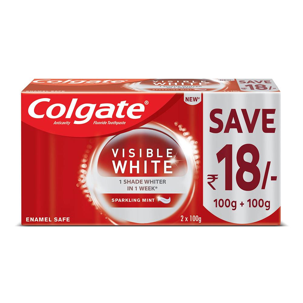 Colgate Visible White- 200gm
