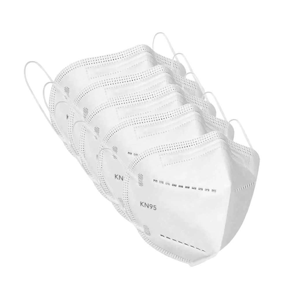 Pack of 5 KN95 3 Layer Protection Mask (Without Filter)