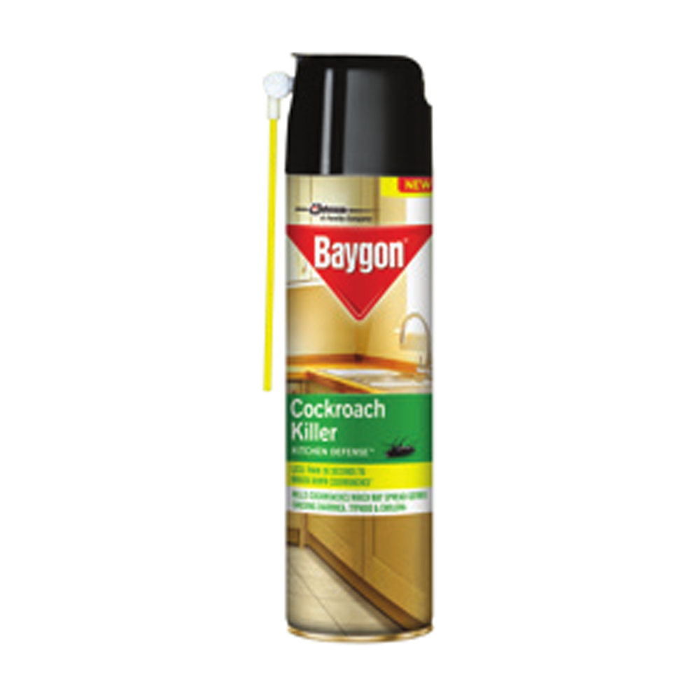 Baygon Crawling Insect Cockroach Killer-400ml