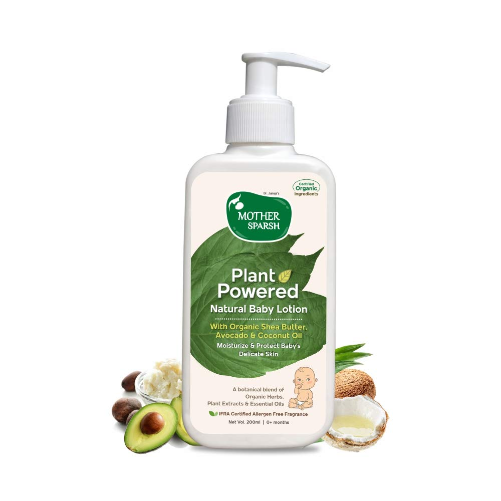 Mother Sparsh Plant Powered Natural Baby Lotion - 200ml