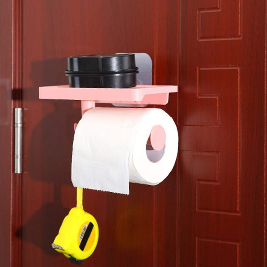 Tissue Paper Holder With Mobile Phone Stand