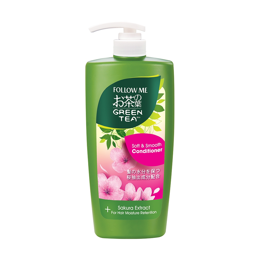 Follow Me  Green Tea Soft And Smooth Conditioner 650ml