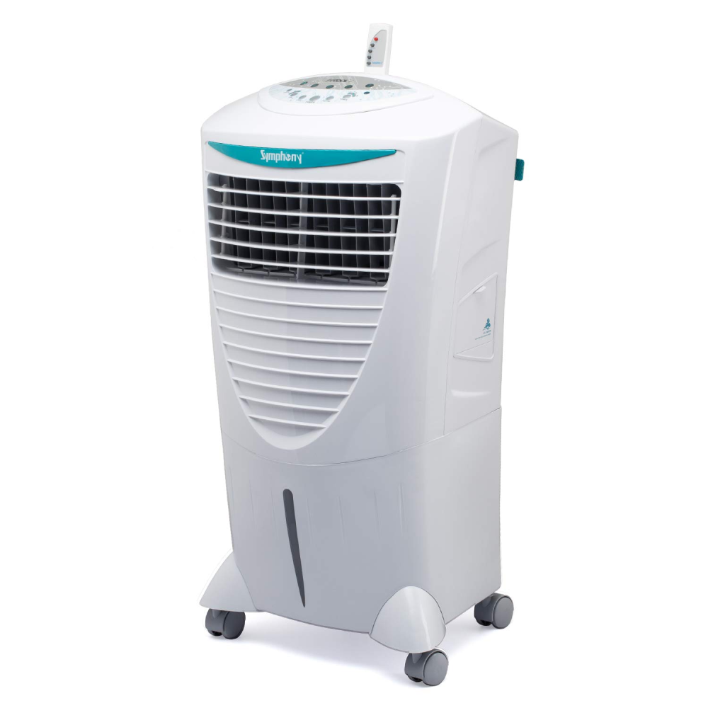 Symphony HiCool-i Modern Personal Room Air Cooler 31-Litres (White)