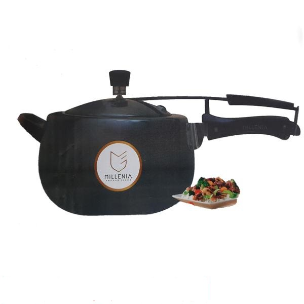 Millenia Black Pearl Induction Base Pressure Cooker 3.5 Litre