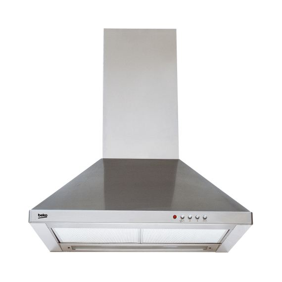 Beko Hood and Chimney CWB 6441 XN Stainless Steel