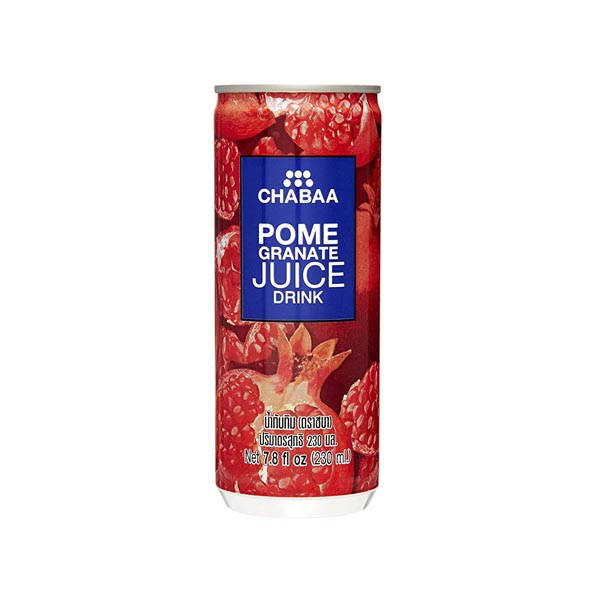 CHABAA Pomegranate Juice Drink 230Ml (6 Pack)