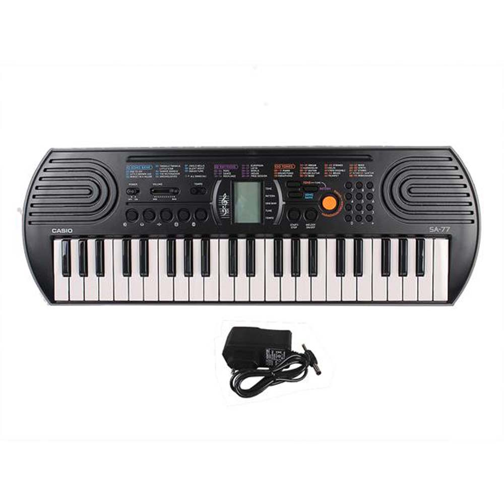 Casio SA 77 Keyboard With Adapter