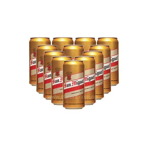 San Miguel 500 Ml X 12 Cans