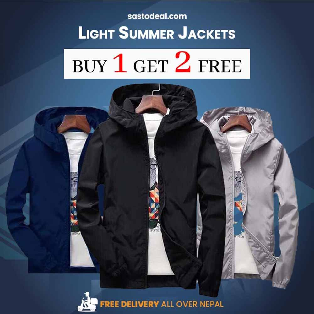 Buy 1 Get 2 Free Windproof Windcheater for Unisex