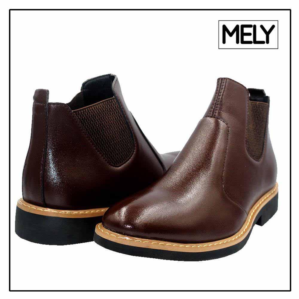 Mely Brown Chelsea Boot for Men