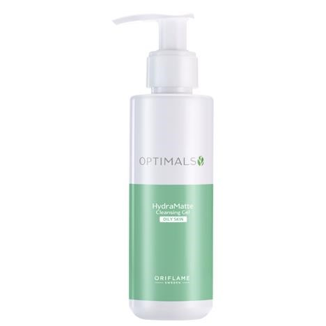 Oriflame Optimal Hydra Matte Cleansing Gel For Oily Skin- 150ml