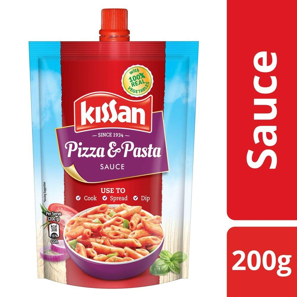 Kissan Sauce Mexcican Pizza & Pasta 200gm
