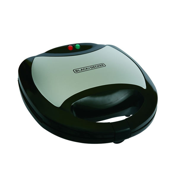 Black + Decker 2 Slice Sandwich Maker-TS2000-B5