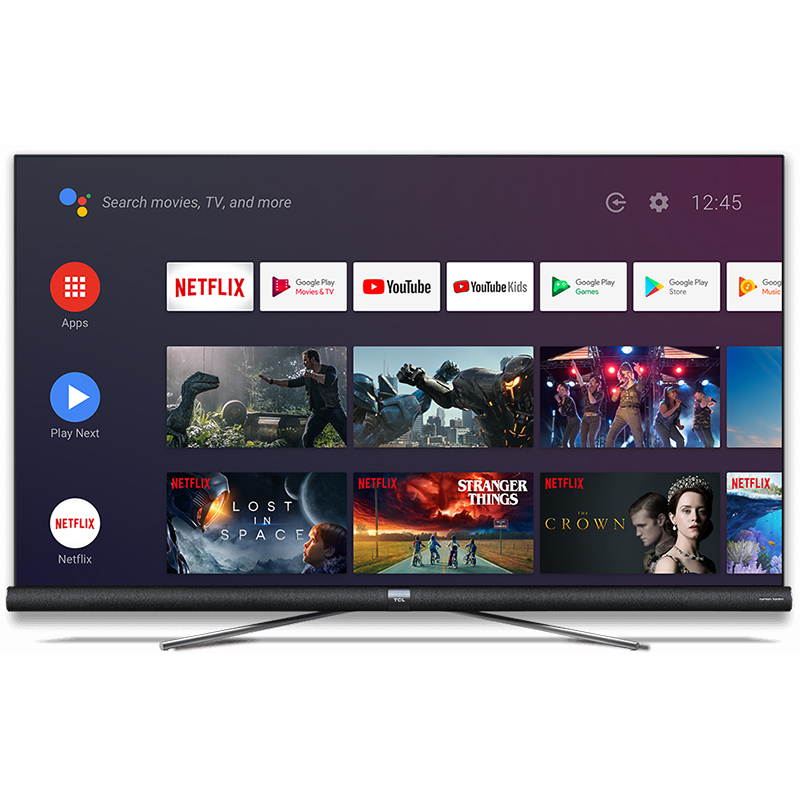 """TCL 55"""" 4K UHD Android TV-55C6"""