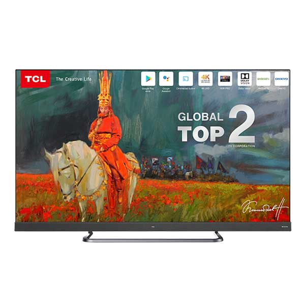 """TCL 55"""" 4K UHD Android TV-55C8"""