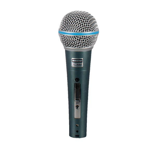 Shure BETA Supercardioid Dynamic Microphone with High Output Neodymium Element for Vocal/Instrument Applications