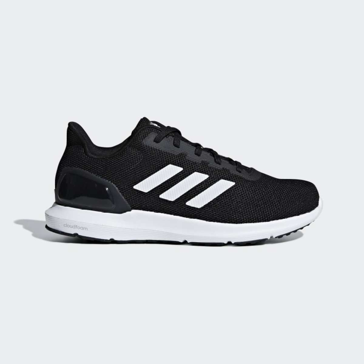 Adidas Black Cosmic 2 Running Shoes For Men F34877