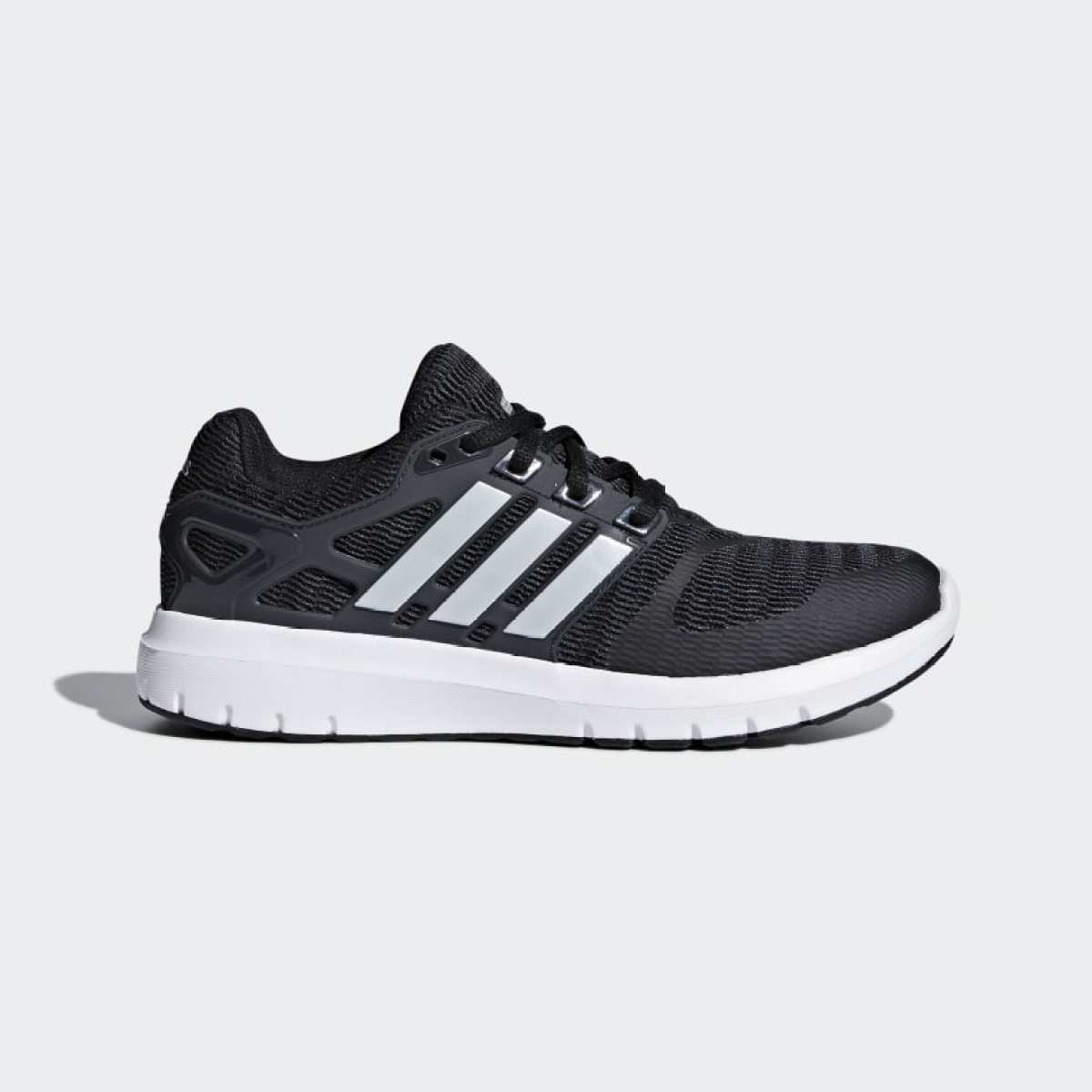 Adidas Core Black Energy Cloud V Running Shoes For Men B44846
