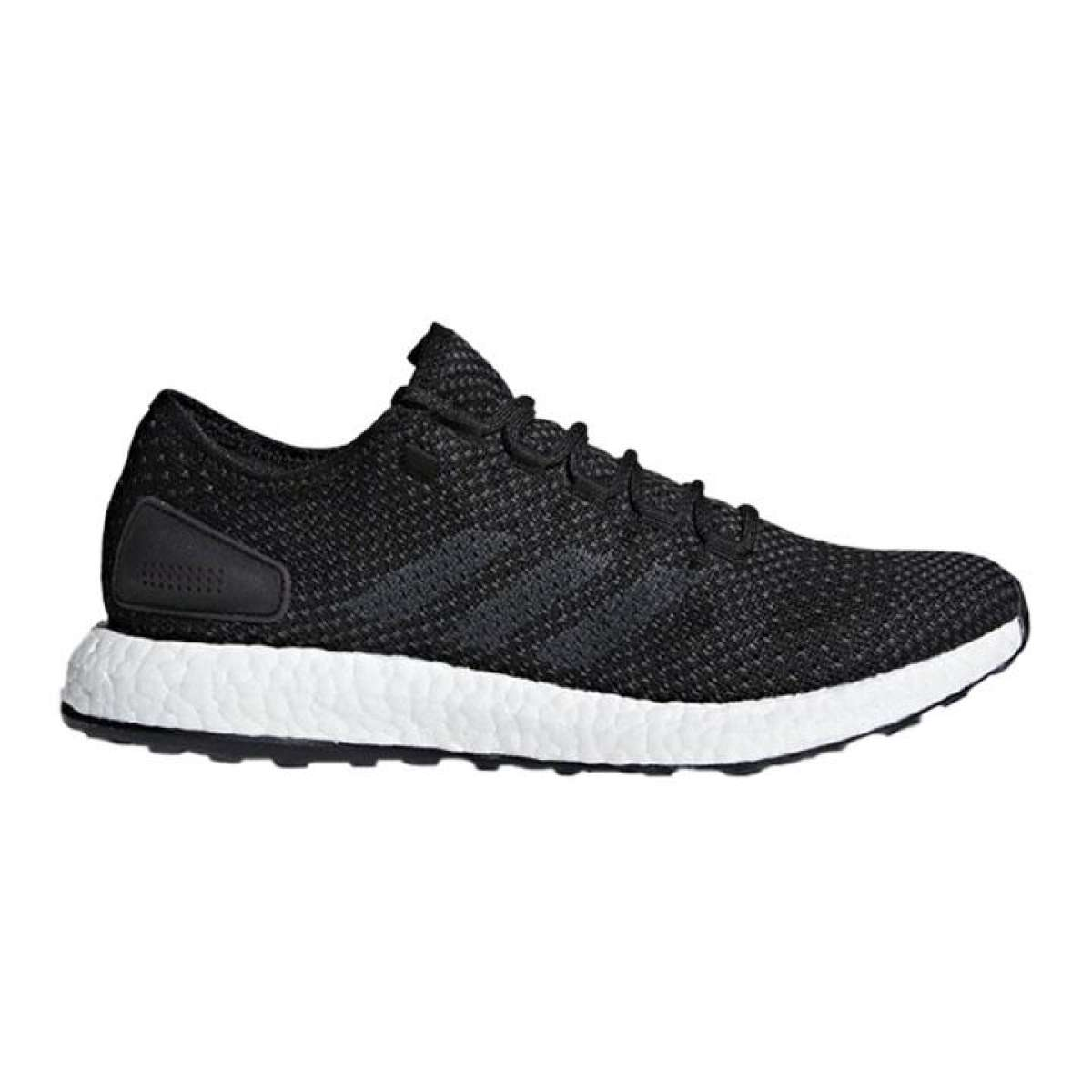 Adidas Black Pureboost Clima Running Shoes For Men - BY8899