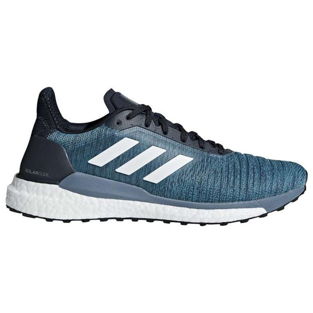 Adidas Ink Blue Solar Glide Running Shoes For Men - AQ0332