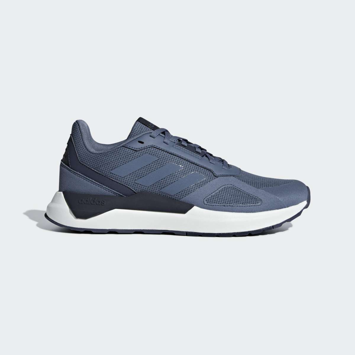 Adidas Ink Blue Run 80S Running Shoes For Men - BB7830