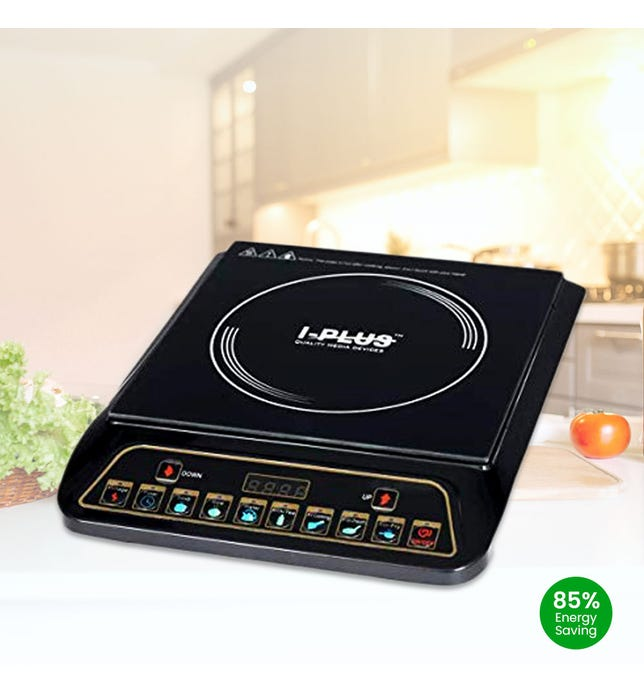 Iplus Ic5050 Induction Cooktop (Black, Touch Panel)