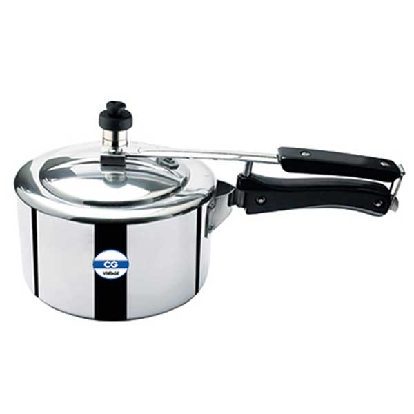CG Vintage 3 Ltr Induction Base Aluminium Pressure Cooker-Vintage 3 Ltr with IB