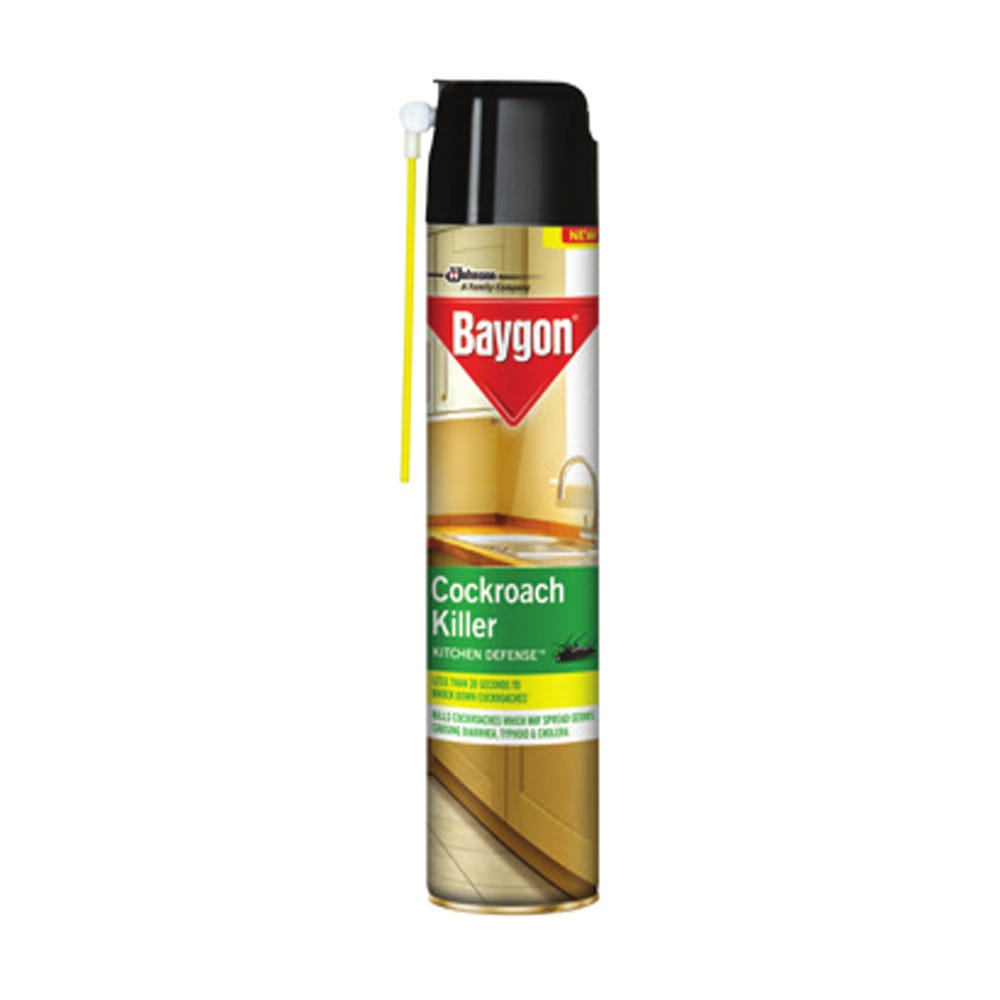 Baygon Crawling Insect Cockroach Killer-320ml