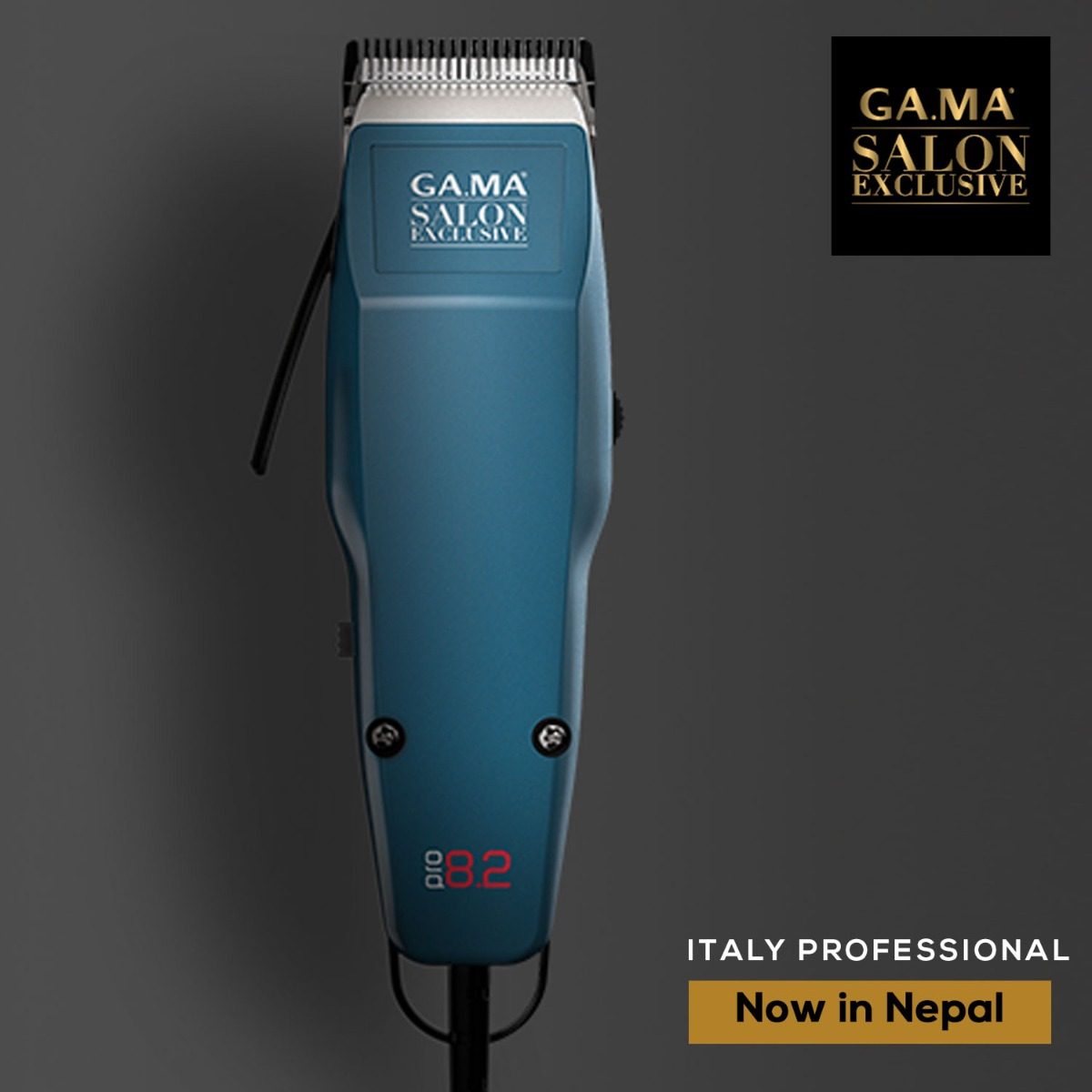 GA.MA SM1303 Professional Hair Clipper Pro 8.2 Alloy EU