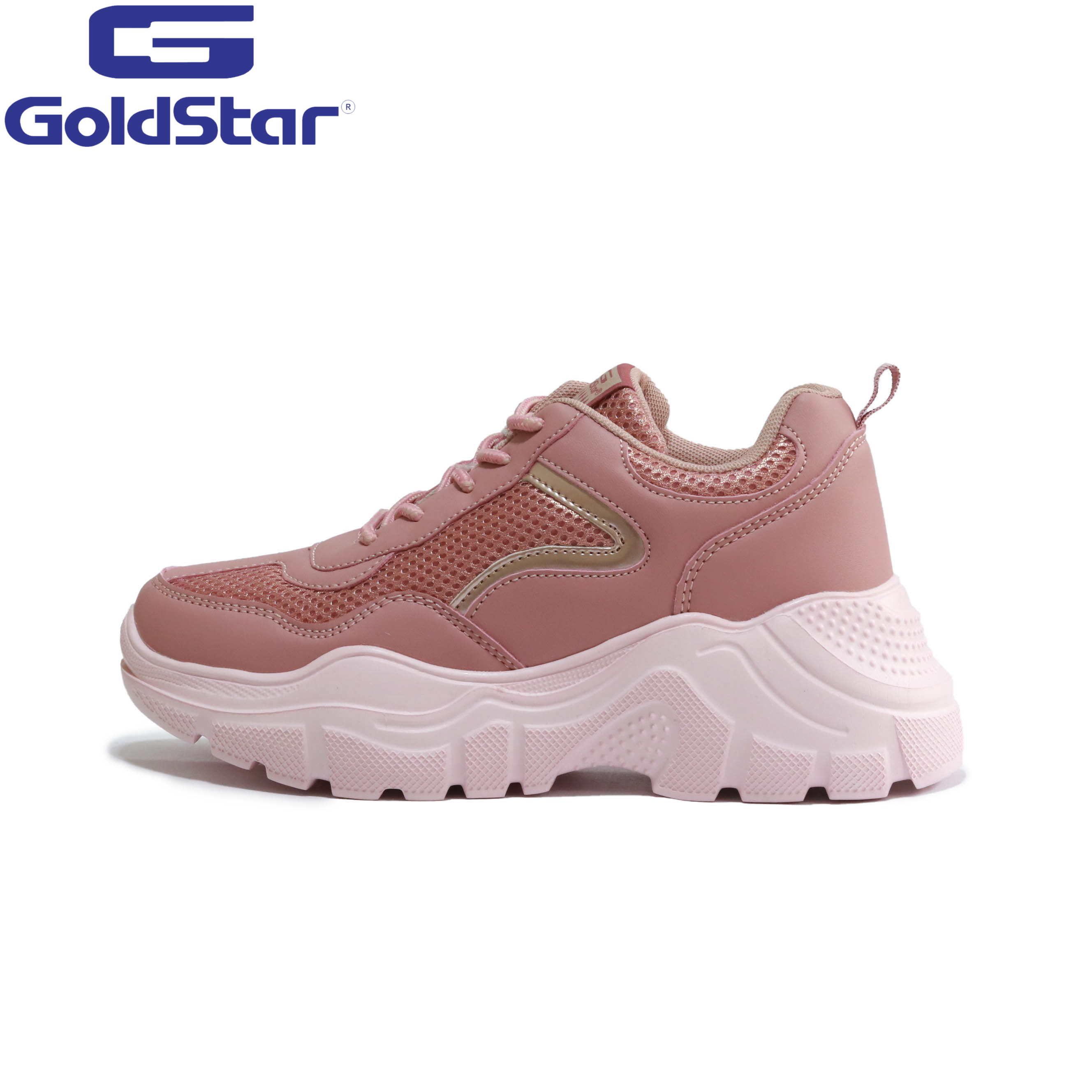 Goldstar Baby Pink Sports Shoes For Women - 9135