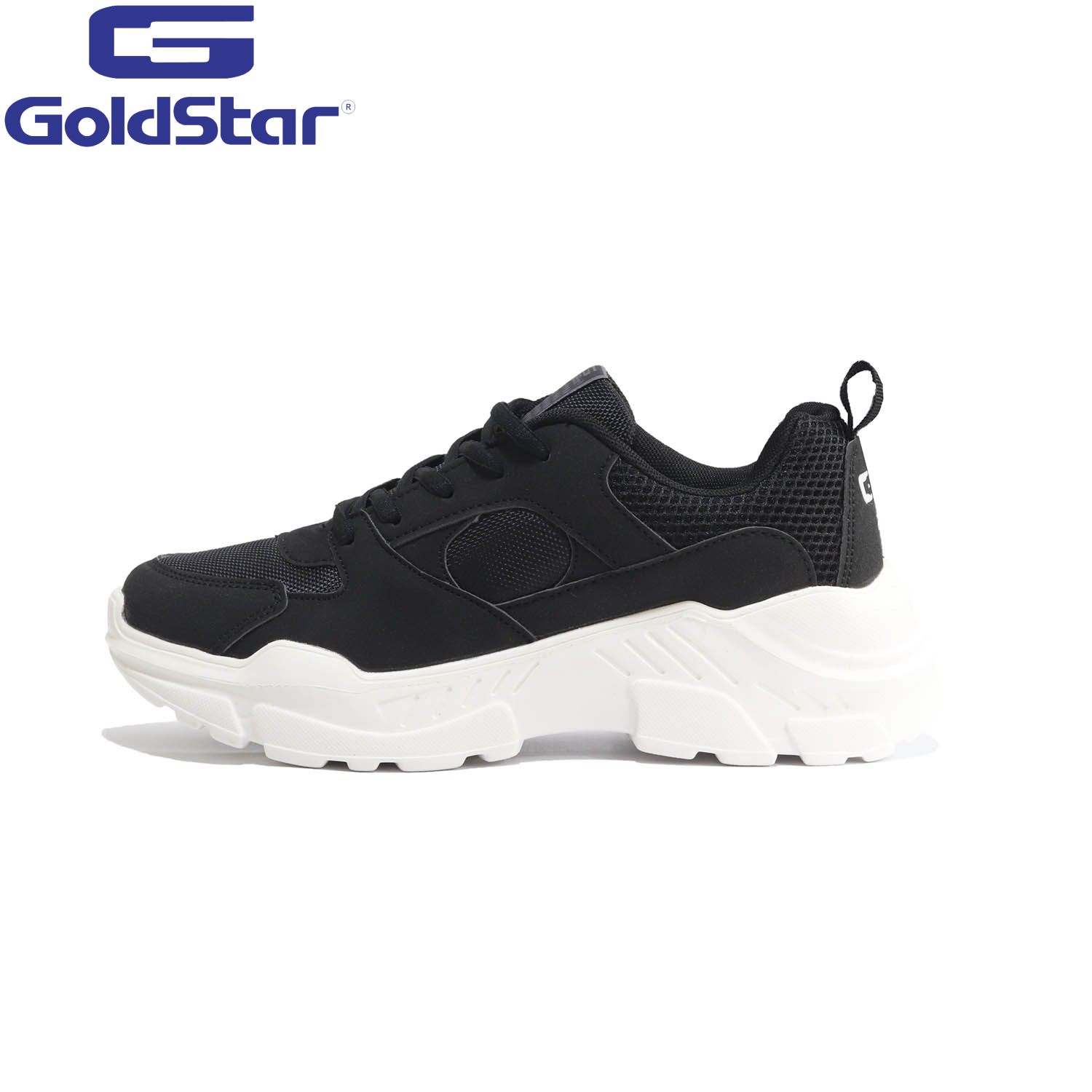 Goldstar Black Sports Shoes For Men - 9137