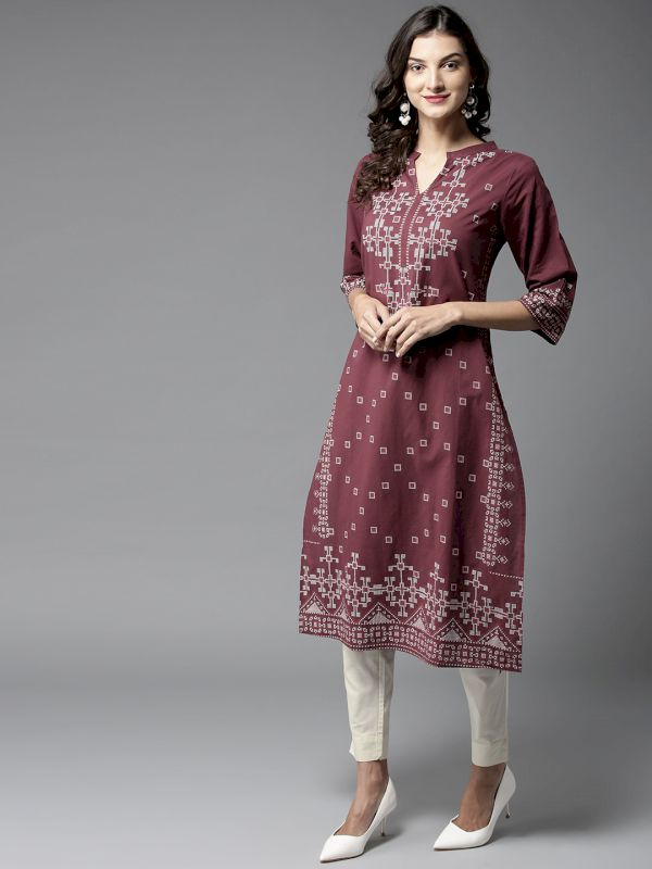 HERE&NOW Women Kurta with Trousers
