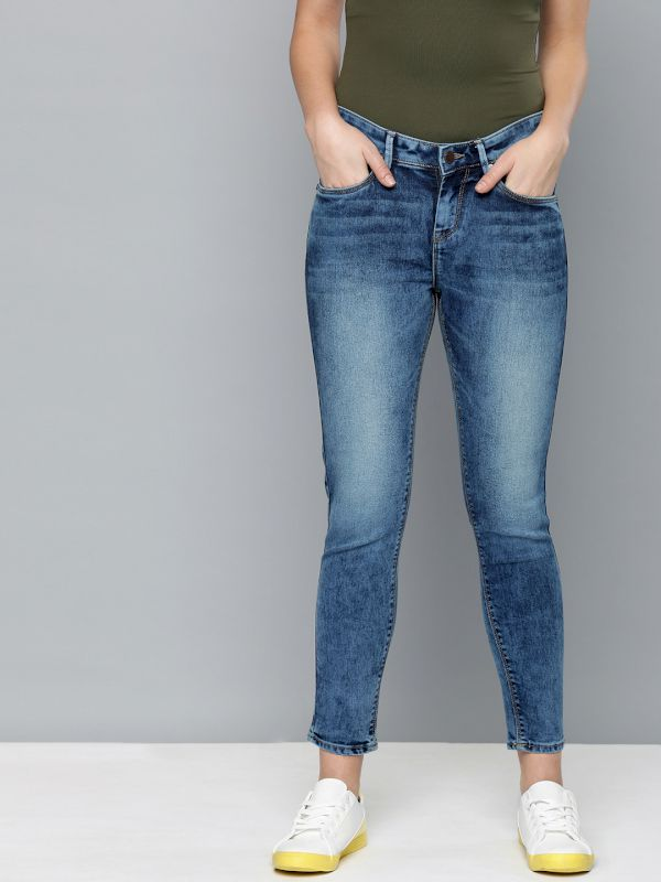 HERE&NOW Women Cropped Jeans