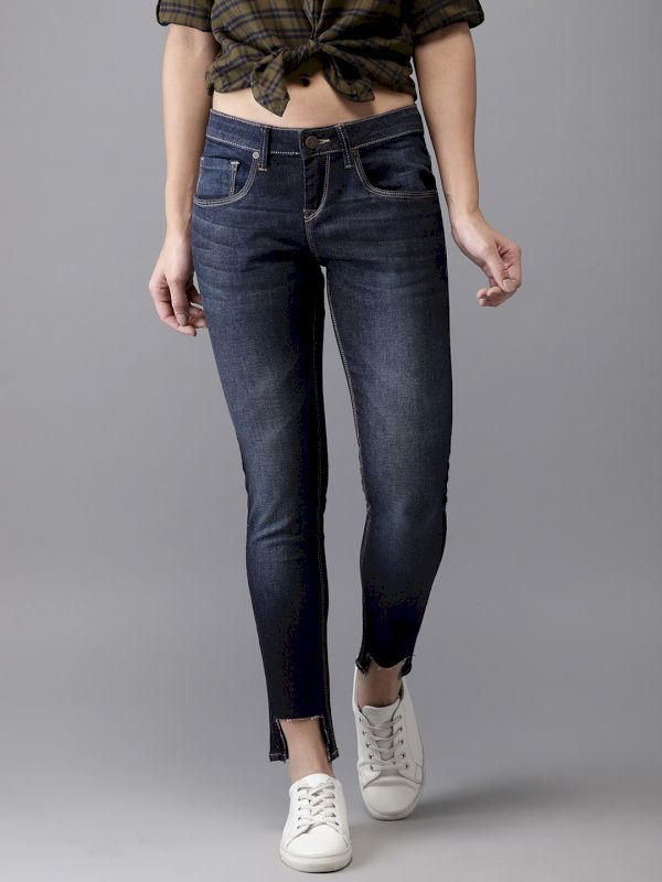 HERE&NOW Women Skinny Fit Jeans