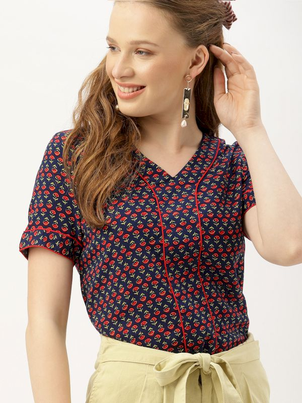DressBerry Women Printed Top