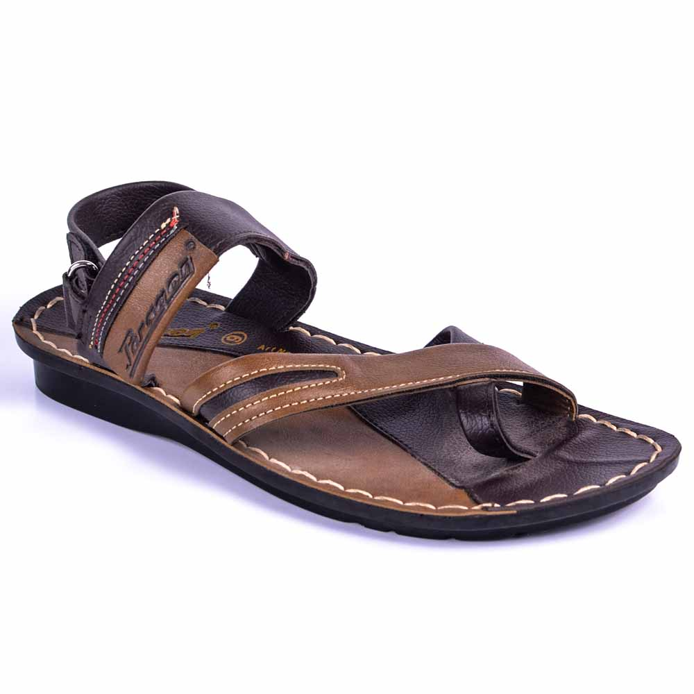Paragon Brown Slickers 08850 Slippers For Men